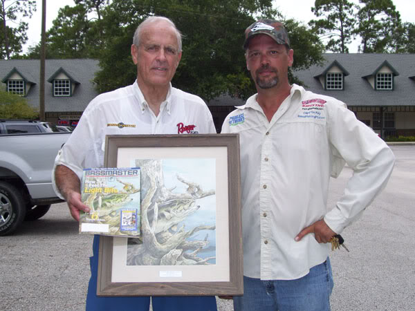 Capt Tim Fey and outdoor writer Walt Jennings
