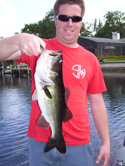 West Lake Toho Bass Fishing