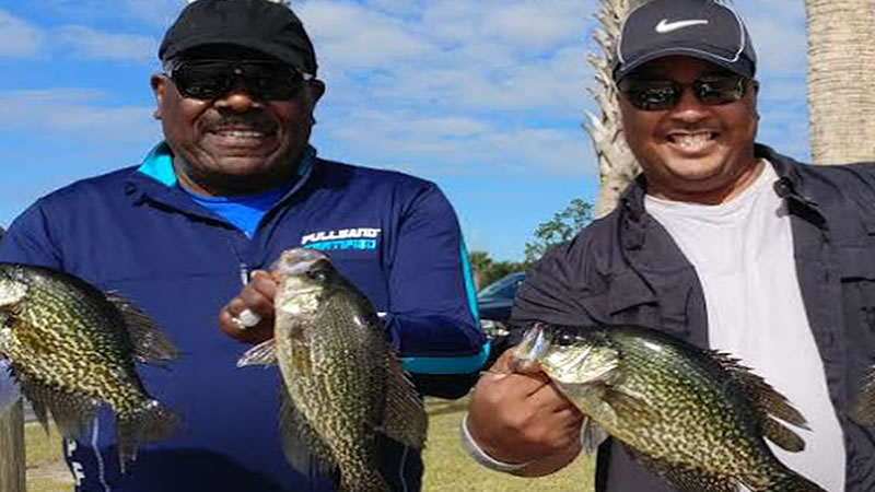 Lake Toho Crappie Fishing